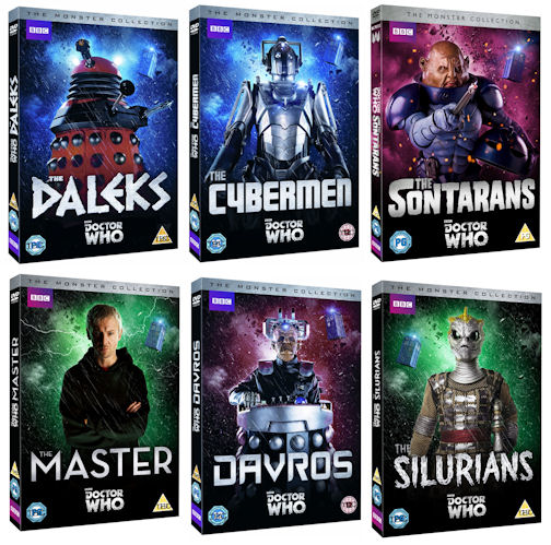 new monster collection dvd range to be released doctor who news