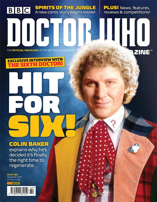 colin baker doctor